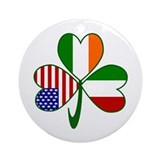 Italian irish Round Ornaments