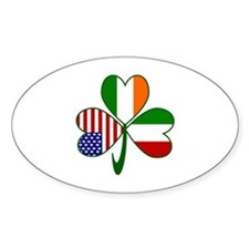 Shamrock of Italy Decal