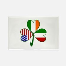 Shamrock of Italy Rectangle Magnet (10 pack)