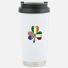 Shamrock of Italy Stainless Steel Travel Mug