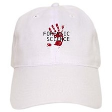 Forensic Science Bloody Palm Baseball Cap