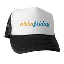 Aloha Friday Hawaii Fancy Design Trucker Hat