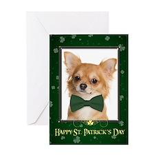 Chihuahua St. Patricks Day Card
