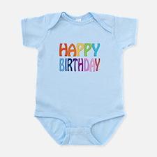happy birthday - happy Infant Bodysuit