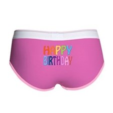 happy birthday - happy Women's Boy Brief