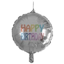 happy birthday - happy Mylar Balloon