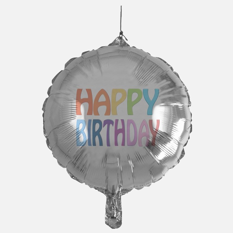 happy birthday - happy Mylar Balloon