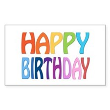 happy birthday - happy Decal