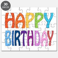happy birthday - happy Puzzle