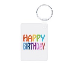 Happy Birthday - Keychains Keychains