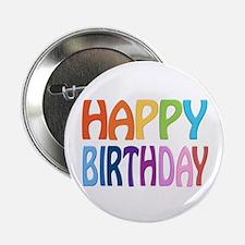 "happy birthday - happy 2.25"" Button (10 pack)"