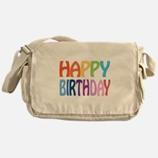 happy birthday - happy Messenger Bag