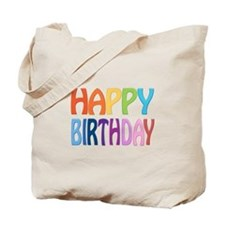 happy birthday - happy Tote Bag