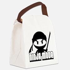 Ninja mode Canvas Lunch Bag