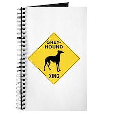 Greyhound Crossing Sign Journal