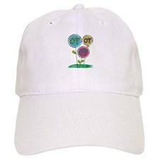 OT FLOWERS FINISHED 1.PNG Baseball Cap