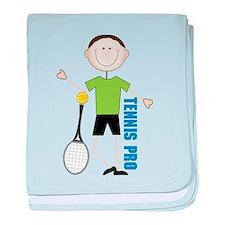 Tennis Pro baby blanket