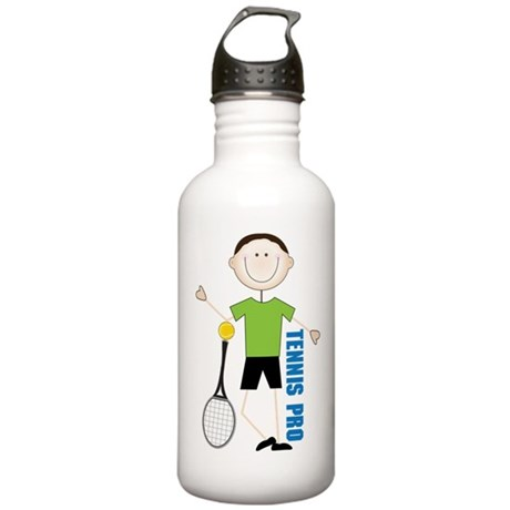 Tennis Pro Stainless Water Bottle 1.0L