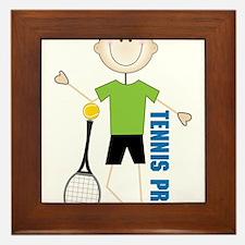Tennis Pro Framed Tile