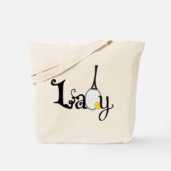 Lady Tennis Tote Bag