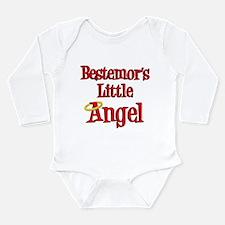 Bestemors Little Angel Long Sleeve Infant Bodysuit