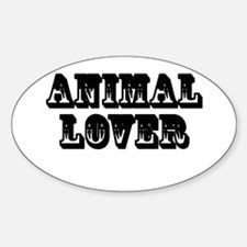 Animal Lover Decal