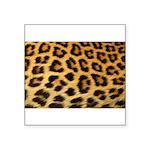 Animal Print Square Sticker 3