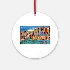Adirondack Mountains New York Ornament (Round)