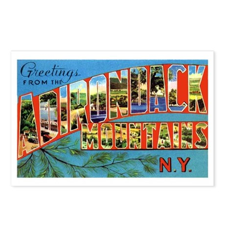 Adirondack Mountains New York Postcards (Package o