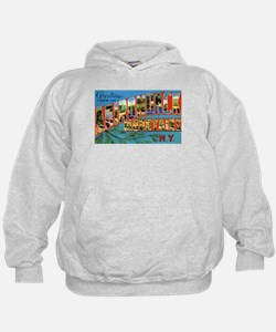 Adirondack Mountains New York (Front) Hoodie