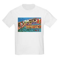 Adirondack Mountains New York (Front) Kids T-Shirt