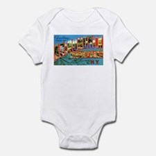Adirondack Mountains New York Infant Bodysuit