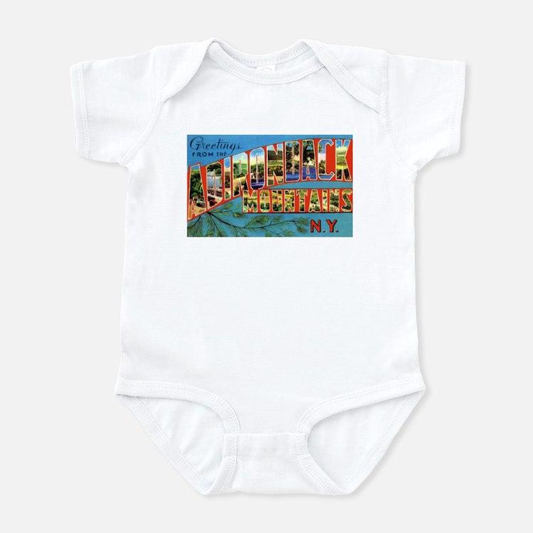 Adirondack Mountains New York Infant Bodysuit