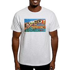 Adirondack Mountains New York Ash Grey T-Shirt