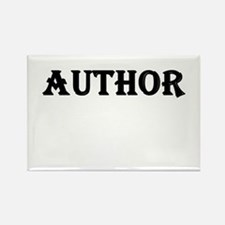 Author Rectangle Magnet