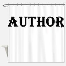Author Shower Curtain