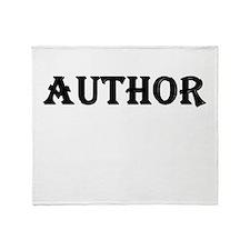Author Throw Blanket