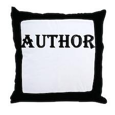 Author Throw Pillow