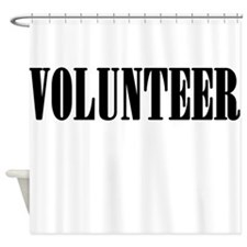 Volunteer Shower Curtain