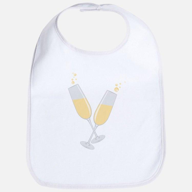 Champagne Bib