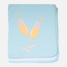 Champagne baby blanket