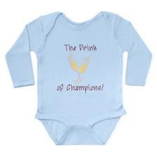 The Drink Long Sleeve Infant Bodysuit