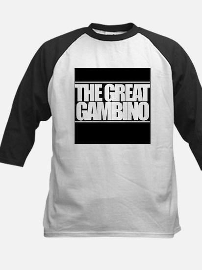 'The Great Gambino' B/W Kids Baseball Jersey