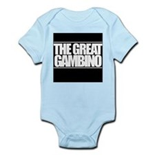'The Great Gambino' B/W Infant Bodysuit