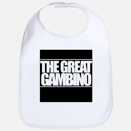 'The Great Gambino' B/W Bib