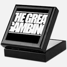 'The Great Gambino' B/W Keepsake Box