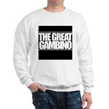 'The Great Gambino' B/W Sweatshirt