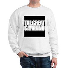'The Great Gambino' B/W Sweatshirt
