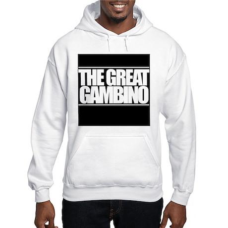 'The Great Gambino' B/W Hooded Sweatshirt