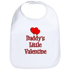 Daddys Little Valentine Bib